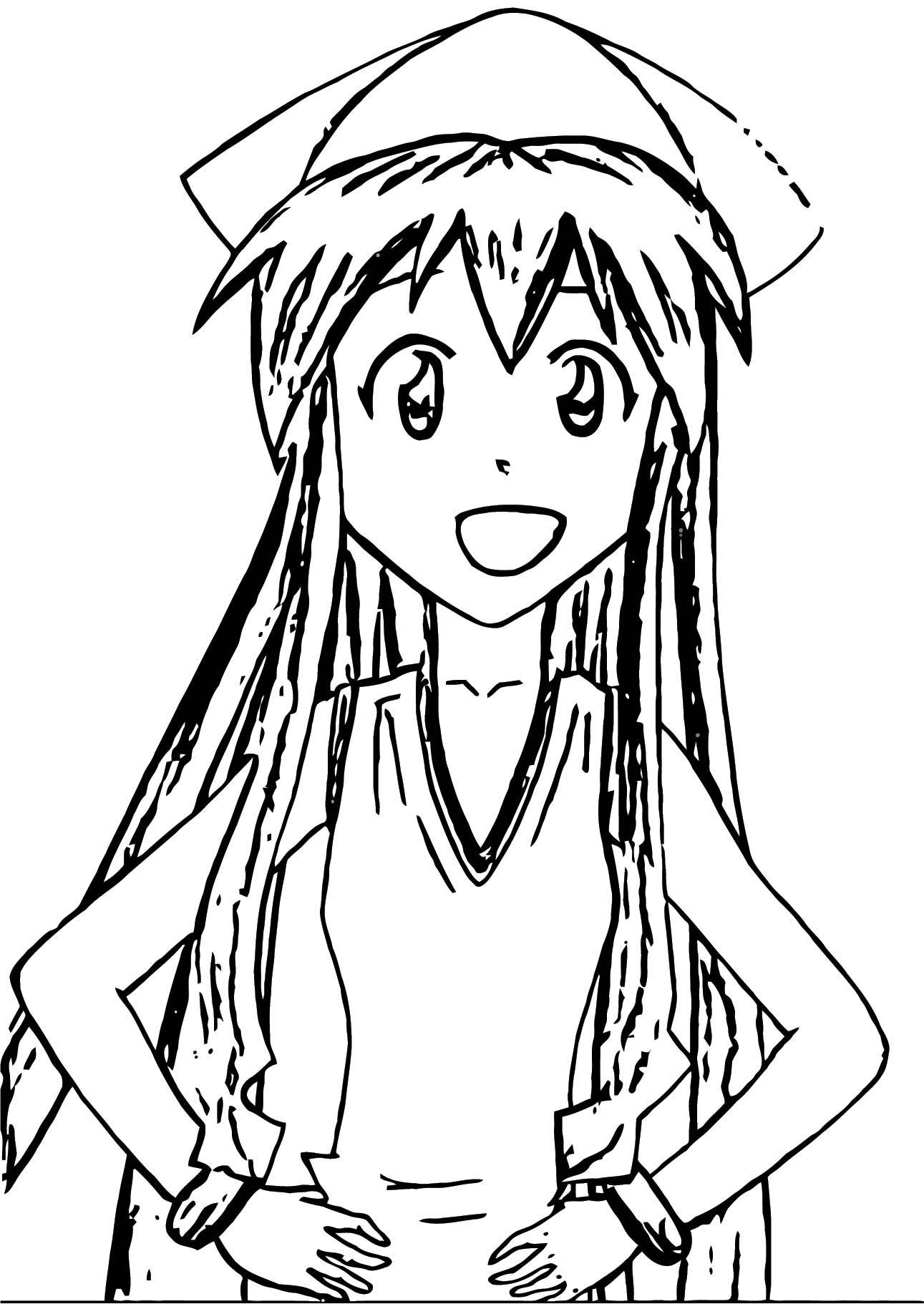 Squid Girl Coloring Page 355