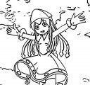 Squid Girl Coloring Page 360