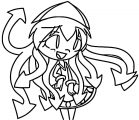 Squid Girl Coloring Page 361