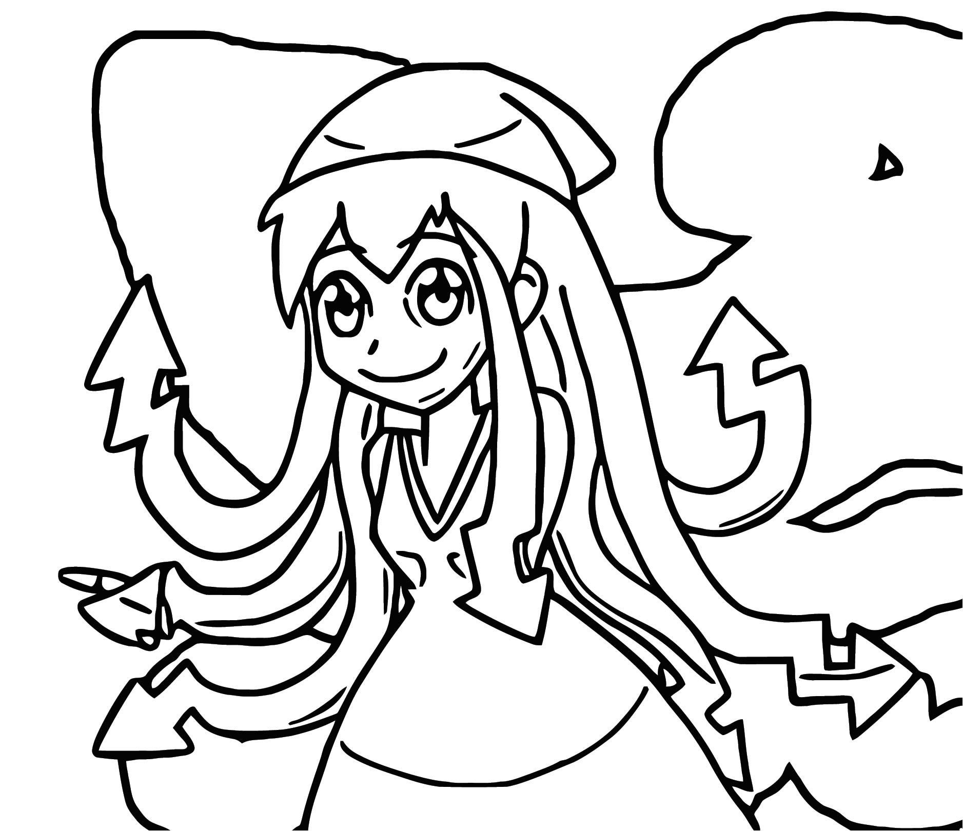 Squid Girl Coloring Page 367