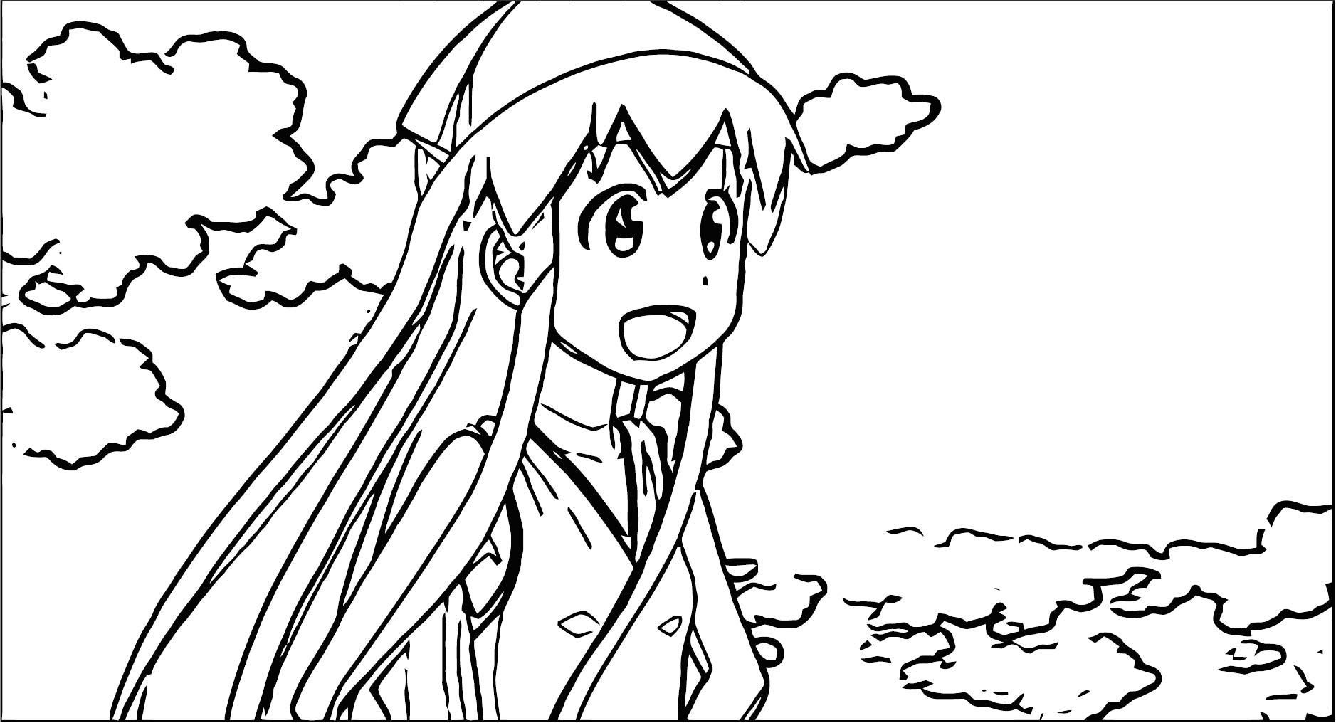 Squid Girl Season 2 Episode 5 Coloring Page