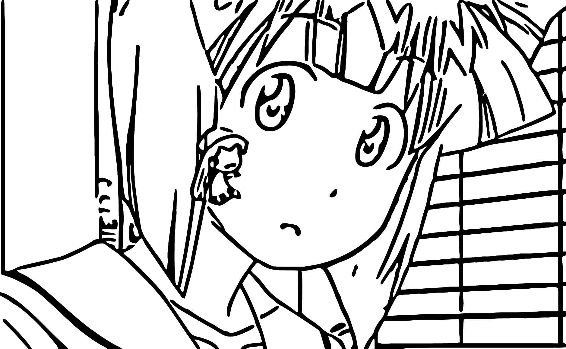 Squid Girl Season 2 Episode 6 Cartoon Coloring Page