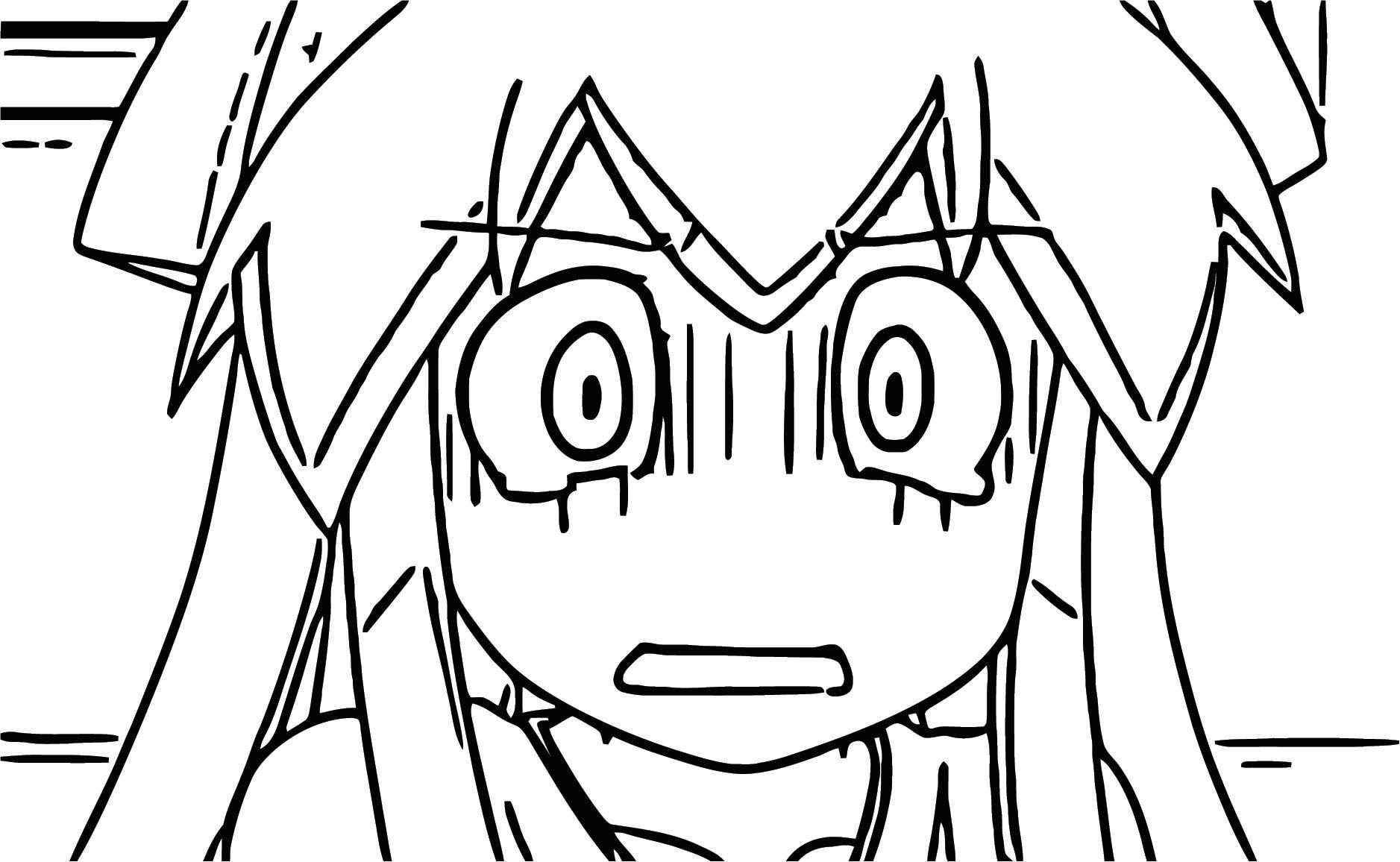 Squid Girl Season This Is Joke Episode Cartoon Coloring Page