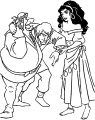 The Hunchback Of Notre Dame Gypsies Coloring Page