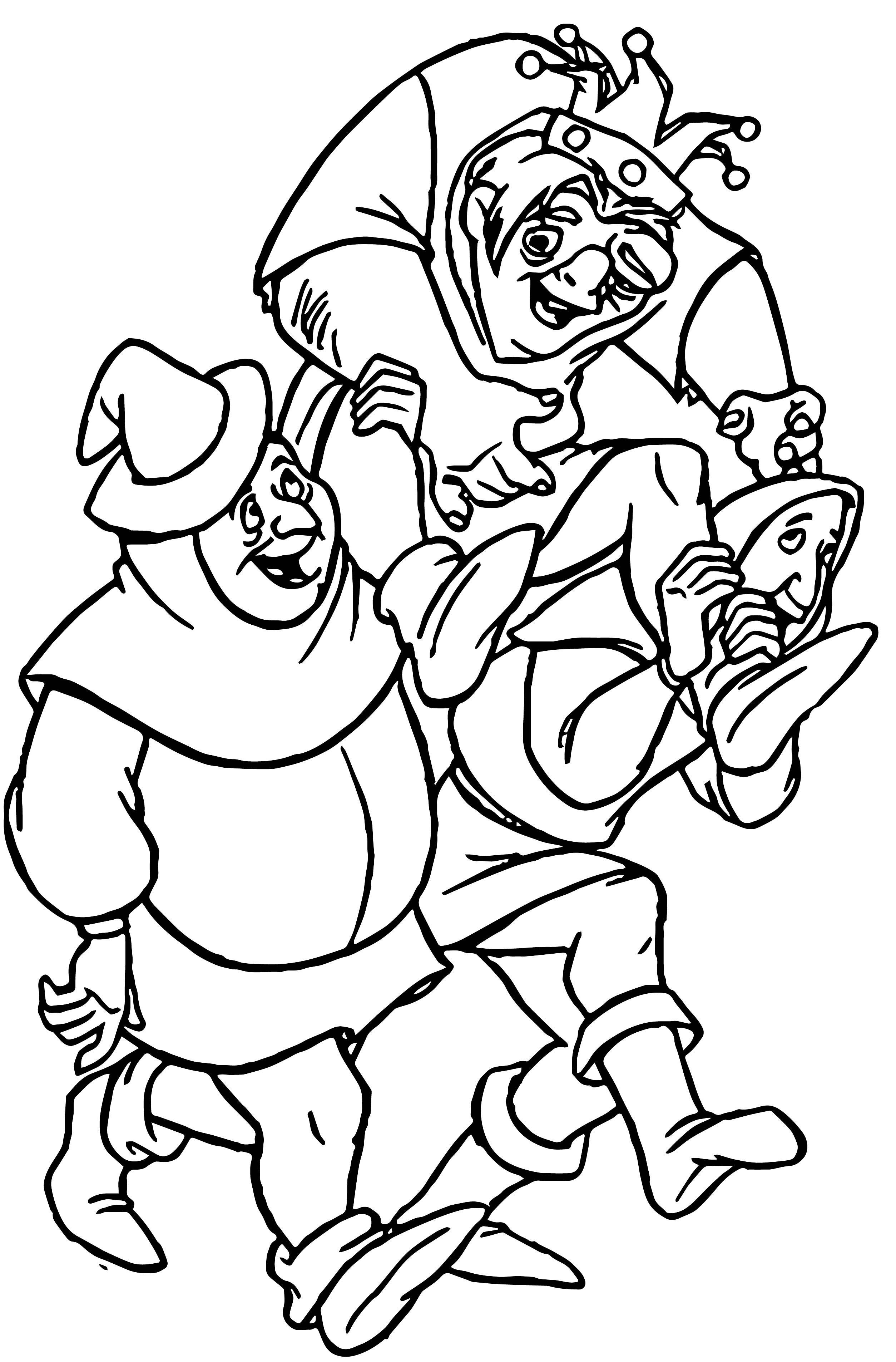 The Hunchback Of Notre Dame Hfr2 Coloring Page