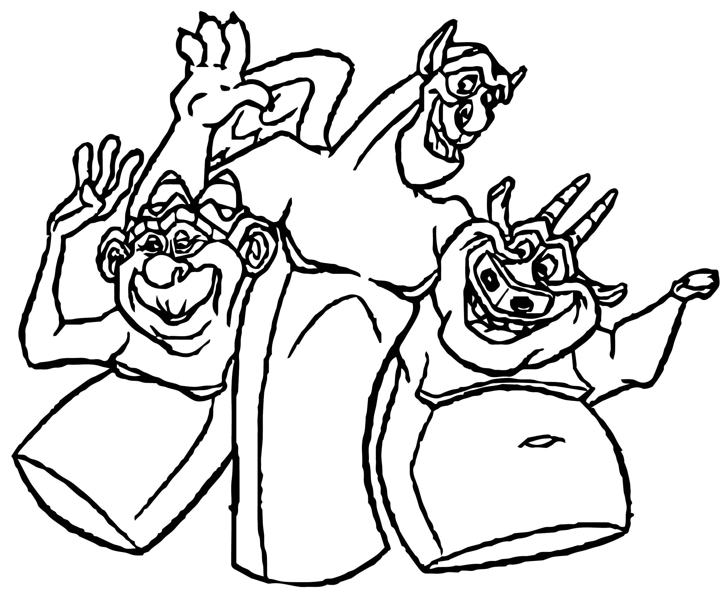 The Hunchback Of Notre Dame Mira20 Coloring Page