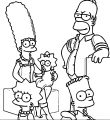 The Simpsons Coloring Page 031