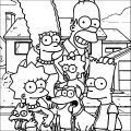 The Simpsons Coloring Page 032