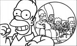 The Simpsons Coloring Page 034