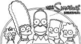 The Simpsons Coloring Page 036