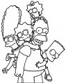 The Simpsons Coloring Page 037