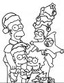 The Simpsons Coloring Page 042