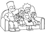 The Simpsons Coloring Page 055