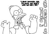 The Simpsons Coloring Page 064