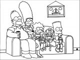 The Simpsons Coloring Page 067