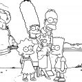 The Simpsons Coloring Page 068