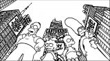 The Simpsons Coloring Page 074