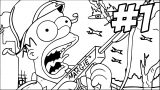 The Simpsons Coloring Page 075
