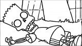 The Simpsons Coloring Page 076