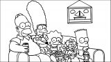 The Simpsons Coloring Page 085