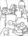 The Simpsons Coloring Page 089