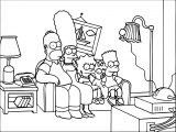The Simpsons Coloring Page 090