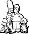 The Simpsons Coloring Page 093