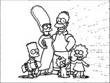 The Simpsons Coloring Page 094
