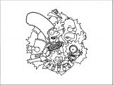 The Simpsons Coloring Page 096