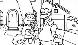 The Simpsons Coloring Page 103