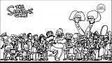 The Simpsons Coloring Page 104