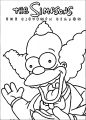 The Simpsons Coloring Page 109