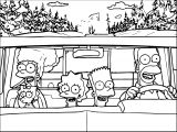 The Simpsons Coloring Page 118