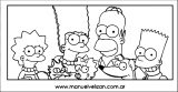 The Simpsons Coloring Page 122