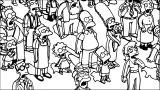The Simpsons Coloring Page 124