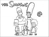 The Simpsons Coloring Page 126