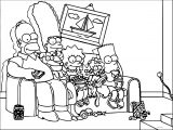 The Simpsons Coloring Page 128
