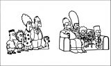 The Simpsons Coloring Page 131