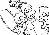 The Simpsons Coloring Page 132