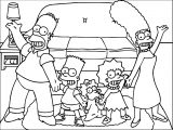 The Simpsons Coloring Page 133