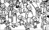 The Simpsons Coloring Page 137