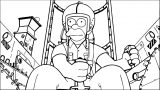 The Simpsons Coloring Page 141