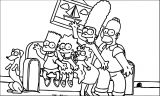 The Simpsons Coloring Page 143