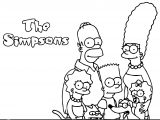 The Simpsons Coloring Page 144