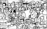 The Simpsons Coloring Page 150