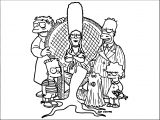The Simpsons Coloring Page 151