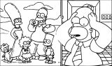 The Simpsons Coloring Page 153
