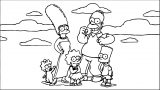 The Simpsons Coloring Page 164