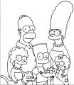 The Simpsons Coloring Page 165
