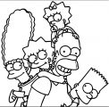 The Simpsons Coloring Page 167